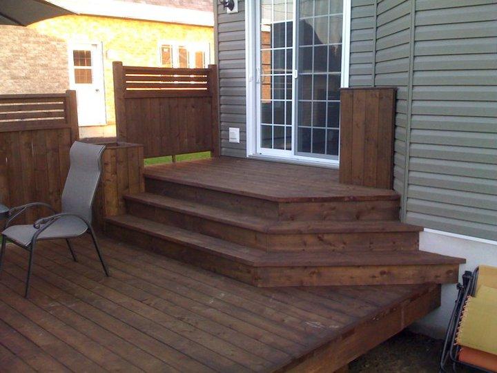 Patio En Bois entretien et réparation - patio bois traité