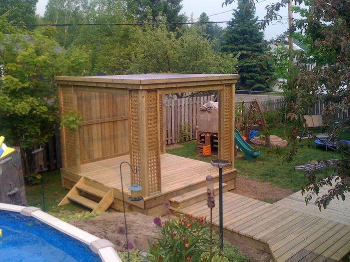 Tonnelles pergolas verandas solariums 3 saisons for Balayeuse de piscine hors terre