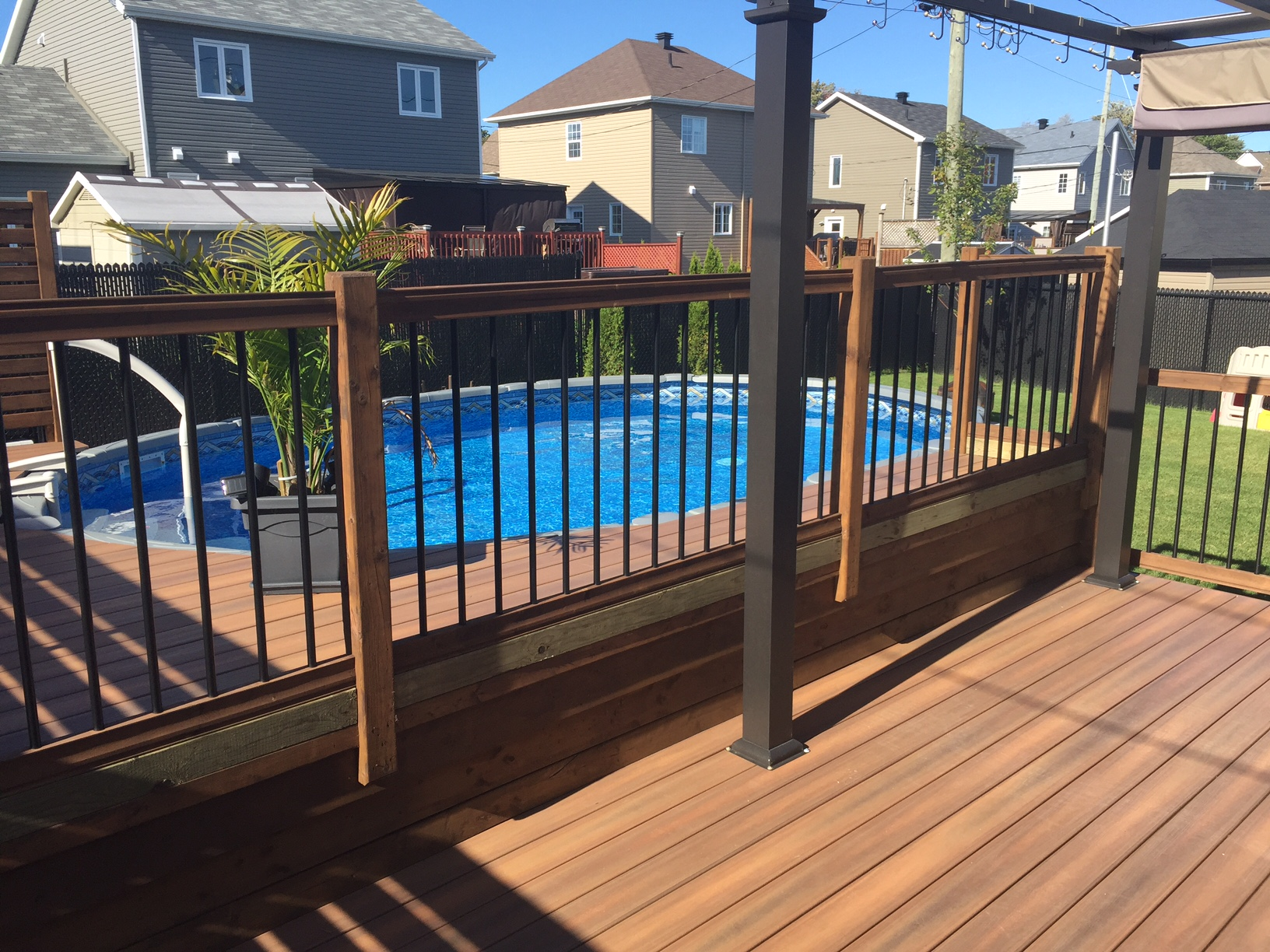 Patios Composite Patio Bois Traite
